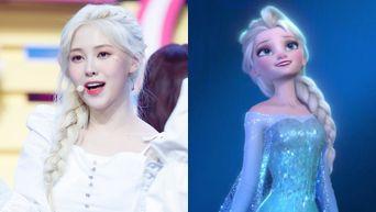 Netizens Compare DIA's YeBin To Disney Princesses