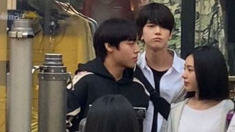 More Pictures Of Park JiHoon, THE BOYZ's YoungHoon & Lee RuBy Filming For Drama 'Love Revolution' Shared Online
