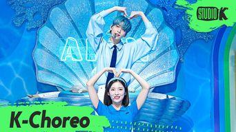 SooBin(TXT) & Arin(OH MY GIRL) Choreography - 'Dolphin' @MusicBank