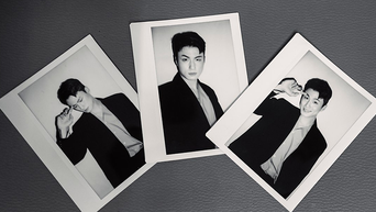 Shin SeungHo For LEDEBUT Magazine July Issue Behind-the-Scene