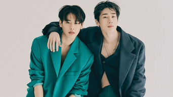 VICTON's SeungWoo & ByungChan For Cosmopolitan Magazine August Issue