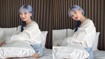 Netizens Are Amazed By How Lovelyz's SuJeong Is Able To Keep Her Hair Colour For So Long