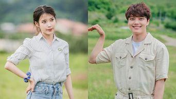 IU Cutely Teases Yeo JinGoo Scared Of A Grasshopper On 'House On Wheels'