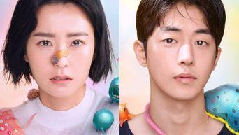 Netflix Drops Nam JooHyuk & Jung YuMi Posters For 'The School Nurse Files' & Premiere Date