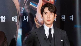 Yoo YeonSeok, Film 'Steel Rain2: Summit' Press Conference & Live Broadcasting Behind Shooting Scene - Part 1