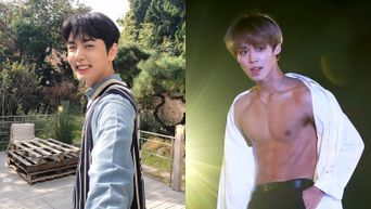 7 K-Pop Male Idols With Baby Face But Abs That Make You Gasp