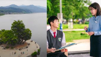 K-Drama 'When I Was Most Beautiful' Filming Location Of Outdoor Painting Class With Ji Soo & Im SooHyang