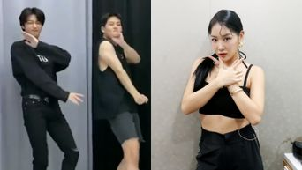 MONSTA X's HyungWon & JooHoney Take On SoYou 'GOTTA GO' Challenge