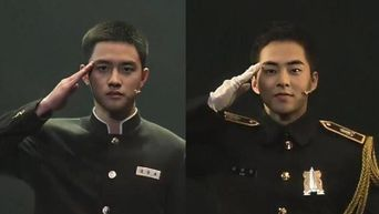 Why Everyone's Asking If EXO XiuMin & D.O Are Really Soldiers In The Army