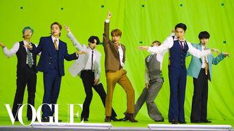 BTS - VMAs 'Dynamite' Getting Ready | Vogue
