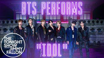 BTS - Gyeongbokgung Palace IDOL Performance (Jimmy Fallon SHOW)