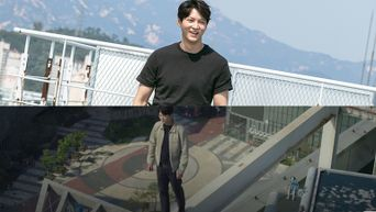 Joo Won Filmed Smiling On The Top Of High Buildings For 'Alice'