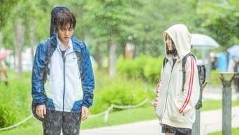 Park JiHoon Is A Gentleman For Lee RuBy In The Behind-The-Scene Of 'Love Revolution'