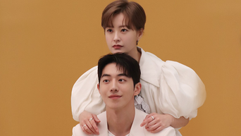 Jung YuMi & Nam JooHyuk, Photoshoot Behind-the-Scene
