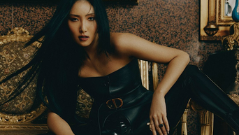 MAMAMOO's HwaSa For VOGUE Korea Magazine November Issue