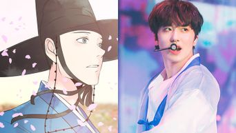 Have A Glimpse At SF9 Chani's Webtoon Character In Upcoming Web Drama 'Are You Leaving?'