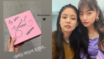 K-Pop Fans Are Loving The Friendship Between BLACKPINK's Jennie And Weki Meki's DoYeon