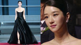 Seo YeJi Looks Fabulous In Gorgeous Dress At Awards Ceremony