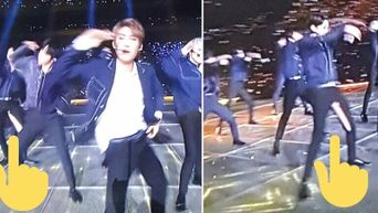 Unexpected Stage Mishaps K-Pop Idols Have Experienced