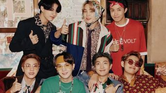 BTS Causes Heads To Turn With Eye Catching Retro Concept For 2021 Season Greetings