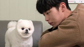 Lee JaeWook Takes Cute Pictures With Dog MiMi From 'Do Do Sol Sol La La Sol'