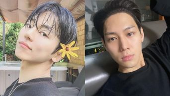 A Look At MYNAME's InSoo & IMFACT's Lee Sang, Lead Couple Of BL Web Drama 'Wish You'
