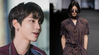 Find Out About 'True Beauty' Actor Hwang InYeop's Past Modeling Pictures