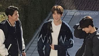 NCT's JaeHyun, UP10TION's Lee JinHyuk & Bae HyunSung Spotted Filming For Drama 'Dear.M'