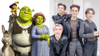 NCT Members Reenact Hilarious Poses Of 'Shrek' Characters
