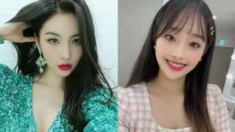 SunMi Showers LOONA's Chuu With Love After Knowing Each Other On 'Running Girls'