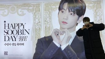 The K-Pop Idol Who Went To Take Photos Of His Birthday Ads After 'MAMA 2020'