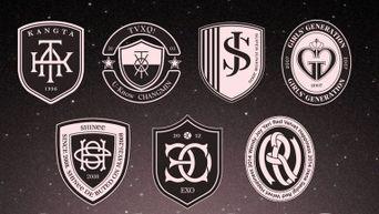 SM Idols' Logos Look Like Marvel Hero Logos In The Movies According To Fans