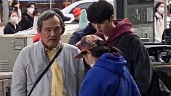 Song Kang Spotted Filming For Drama 'Like A Butterfly'