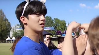WEi's Kim YoHan Is A Sweet Gentleman For So JooYeon In The Behind-The-Scene Of 'A Love So Beautiful'