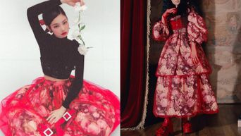Netizens Noticed BLACKPINK's Jennie Beautifully Reformed Skirt For Season Greeting