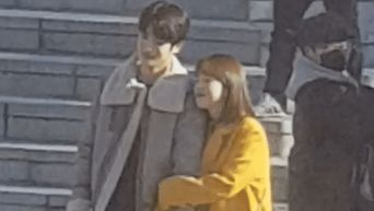 NCT's JaeHyun & Park HyeSu Spotted Cutely Filming For Drama 'Dear.M'