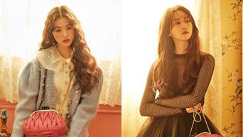'Miu Miu' Releases Warm And Vintage Photoshoot Of YoonA And IZ*ONE's WonYoung