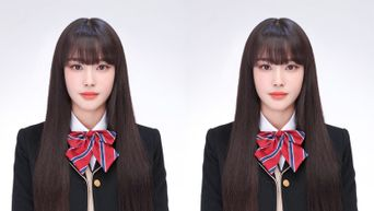 STAYC's Yoon Causes Heads To Turn With Gorgeous ID Photo