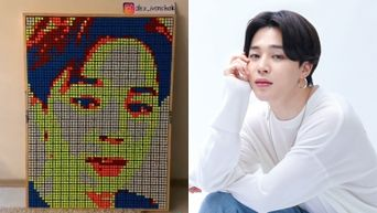 TikTok User Amazes ARMY By Creating Face Of BTS's JiMin With 400 Rubik Cubes
