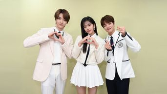 The New 'Inkigayo' MCs NCT SungChan, IZ*ONE An YuJin, & TREASURE JiHoon Take First Picture Together