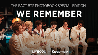 LIVECON.tv Announces 2nd PRE-ORDER Sale For BTS THE FACT PHOTOBOOK SPECIAL EDITION: WE REMEMBER.