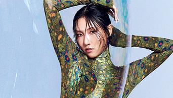 MAMAMOO's HwaSa For W Korea Magazine March Issue