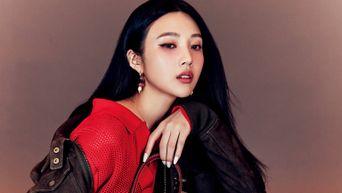 Red Velvet's Joy For W Korea Magazine April Issue