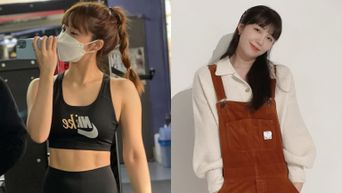 Apink's EunJi Causes Netizens To Take At Second Glance At Her Well Defined Abs