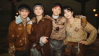 How SHINee's Stylists Coordinated Their Outfits For 'Don't Call Me' With Their Official Colour