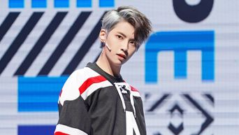 The K-Pop Idol Who Tried Out Two-Tone Hair Dye For The First Time Since Debut