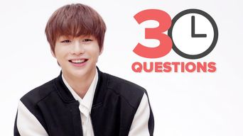 30 Questions In 3 Minutes with KANG DANIEL | BuzzFeedVideo