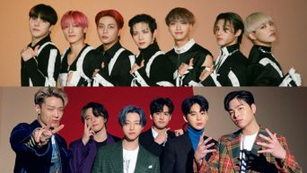 Viewers Of 'KINGDOM: LEGENDARY WAR' Love To See iKON & ATEEZ's Friendly Interaction