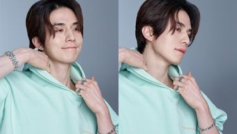 Lee DongWook For ELLE Korea Magazine April Issue Behind Shooting Scene