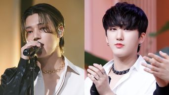 ATEEZ's WooYoung & Stray Kids' ChangBin Show Close Friendship On First Episode Of 'KINGDOM: LEGENDARY WAR'
